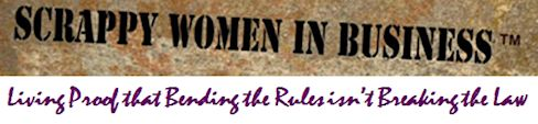 Scrappy Women in Business Logo
